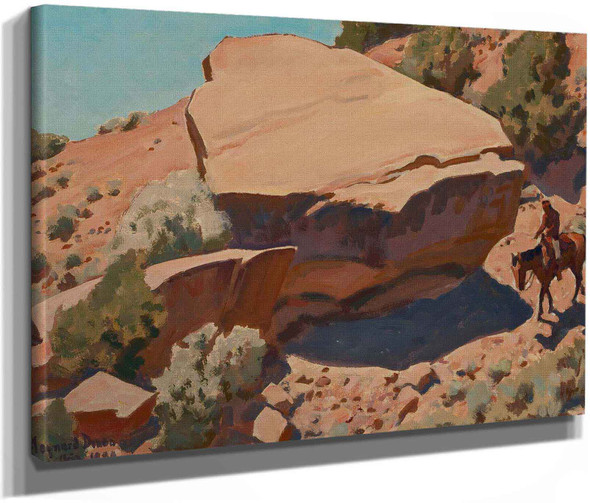 Rocky Hillside 1944 by Maynard Dixon
