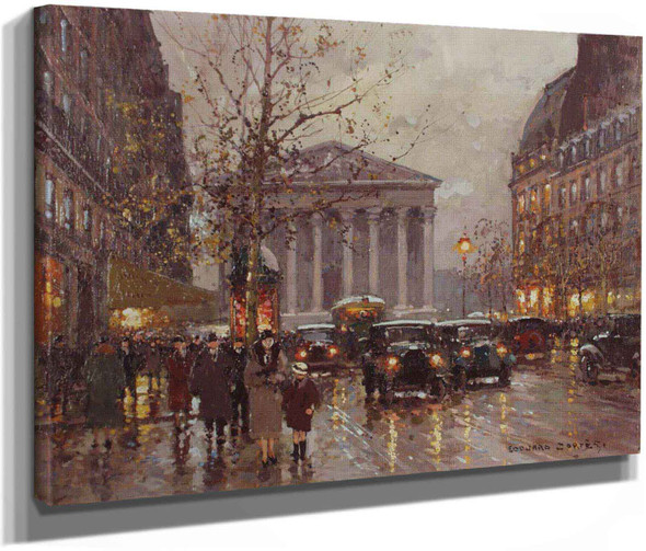 Rue Royale by Edouard Leon Cortes