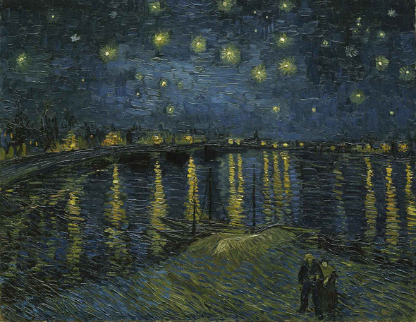 Starry Night 2 by Vincent Van Gogh