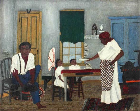 Sundaymorningbreakfast by Horace Pippin