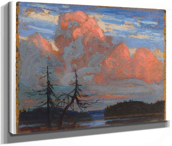 Sunset Algonquin Park by Tom Thomson