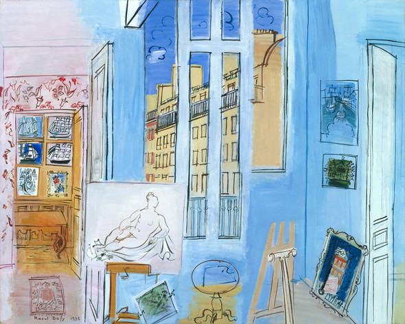 The Artists Studio by Dufy Raoul