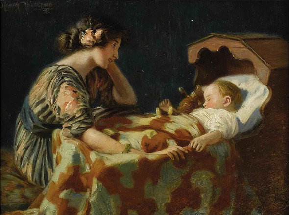 The Light Of The Home by Harry Roseland
