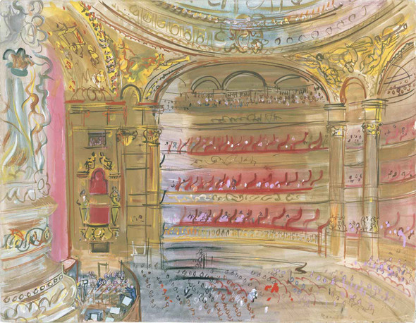 The Opera Paris by Dufy Raoul