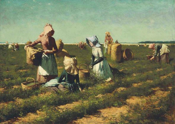 The Peapickers Of Long Island by Harry Roseland