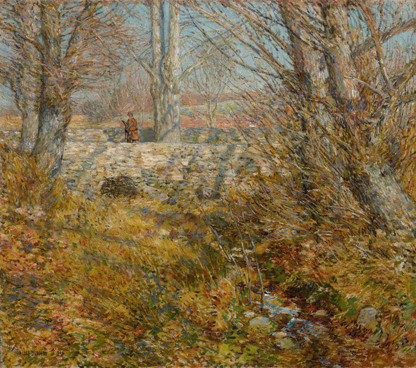 The Stone Bridge Old Lyme by Childe Hassam