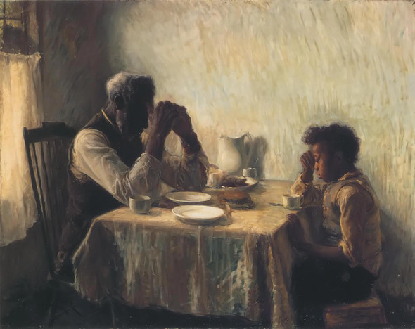 The Thankful Poor Henry Ossawa Tanner by Henry Ossawa Tanner