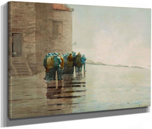 Winslow Homer The Life Brigade by Winslow Homer