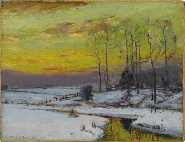 Winter Stream 1912 by Bruce Crane