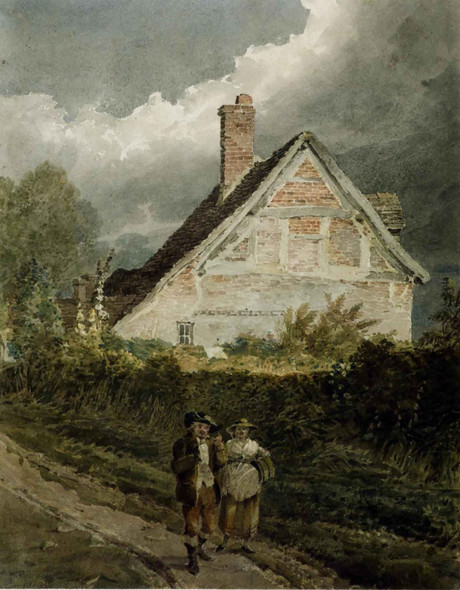 A Country Scene by David Cox