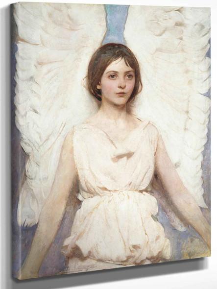 Abbott Handerson Thayer Angel Smithsonian by Abbott Handerson Thayer