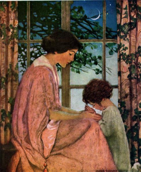 Babys Prayer by Jessie Willcox Smith