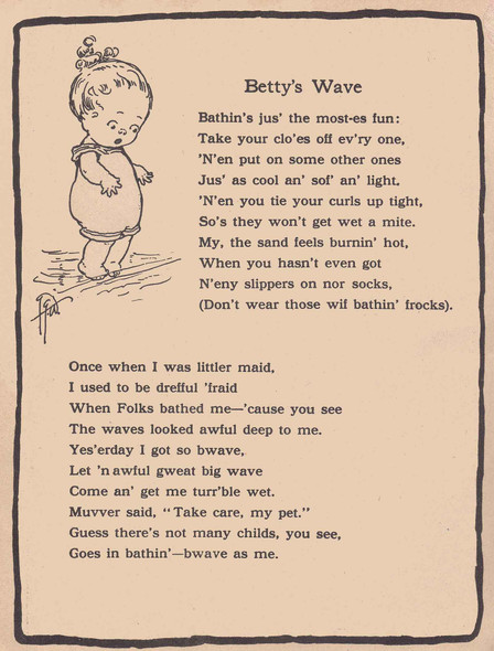 Bettys Wave Illustrated by Grace G Drayton