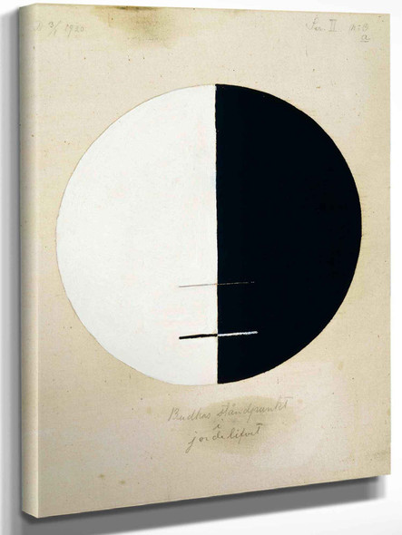 Buddha's Standpoint In The Earthly Life No 3a by Hilma Af Klint