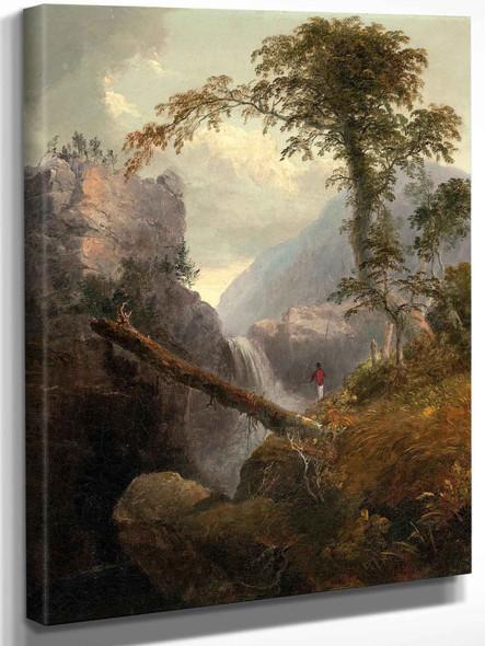 Catskills Circa 1848 by Thomas Doughty