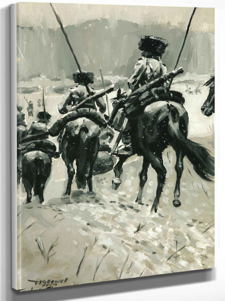 Cavalry Dragoons by Frederic Remington
