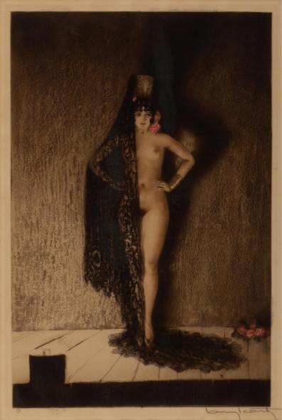 Conchita 1929 by Louis Icart