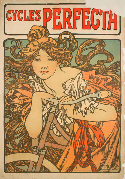 Cycles Perfecta by Alphonse Maria Mucha
