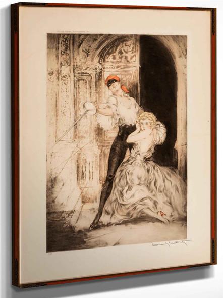 Don Juan 1928 by Louis Icart
