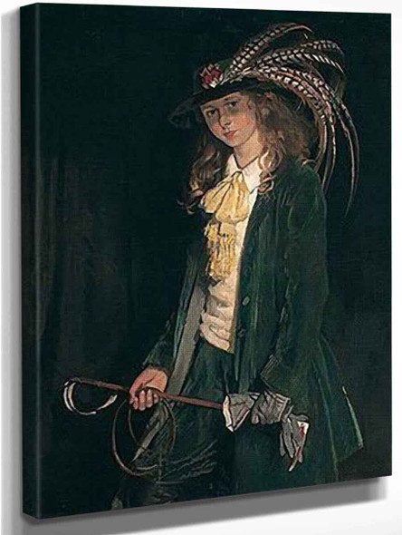 Gardenia St George With Riding Crop By Sir William Orpen By Sir William Orpen