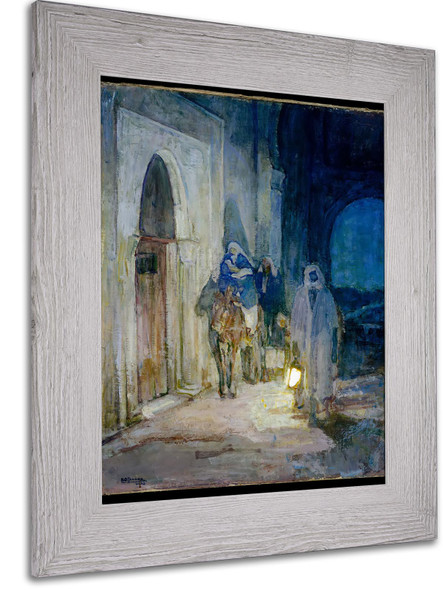 Flight Into Egypt By Henry Ossawa Tanner by Henry Ossawa Tanner