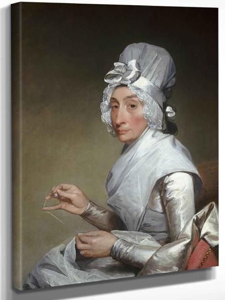 Gilbert Stuart Catherine Brass Yates by Gilbert Stuart