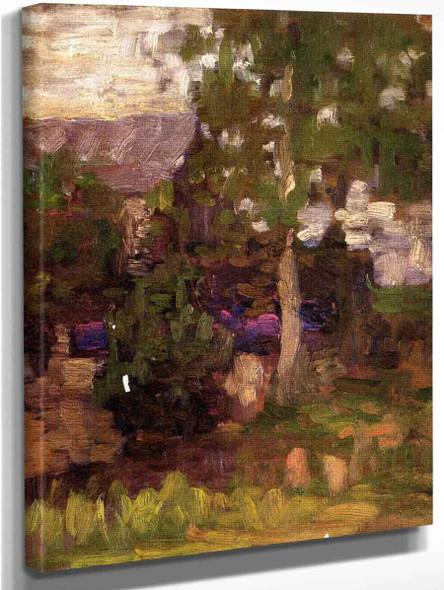 Garden By Thomas P. Anshutz