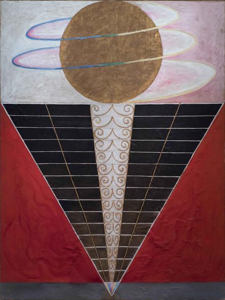 Group X No 2 Altarpiece 1915 by Hilma Af Klint
