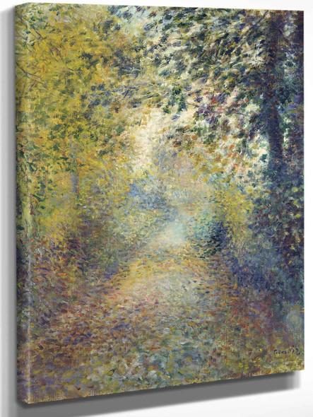 In The Woods by Pierre Auguste Renoir