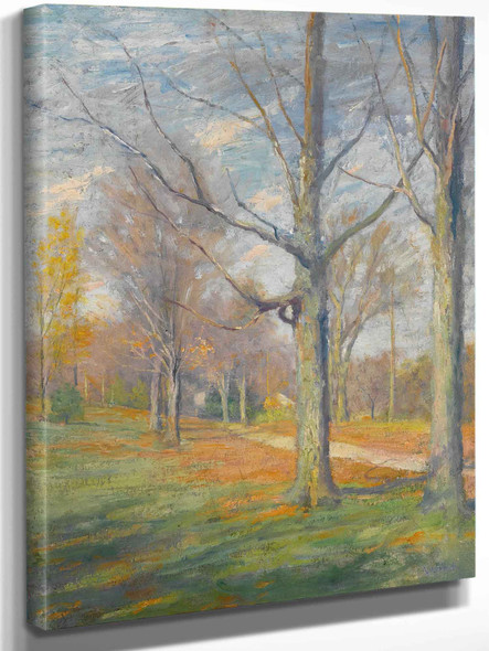 Late Fall by Robert William Vonnoh