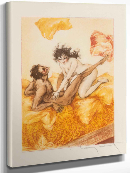 Le Sopha 1935 by Louis Icart
