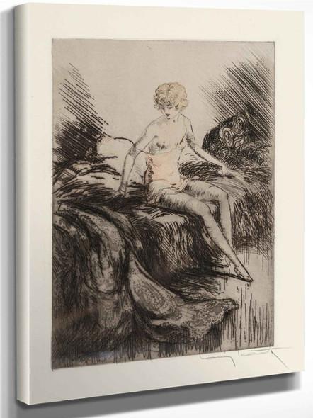 Lingenue Libertine 1926b by Louis Icart