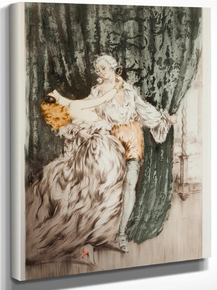 Masquerade 1928 by Louis Icart