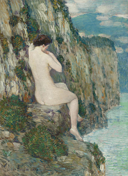 Nude Isle Of Shoals by Childe Hassam