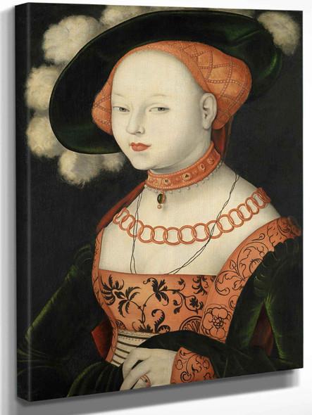 Portrait Of A Woman by Hans Baldung Grien