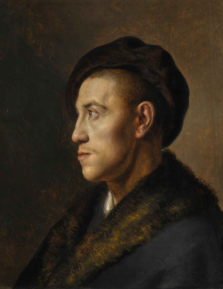 Portrait Of A Young Man In A Beret by Jan Lievens