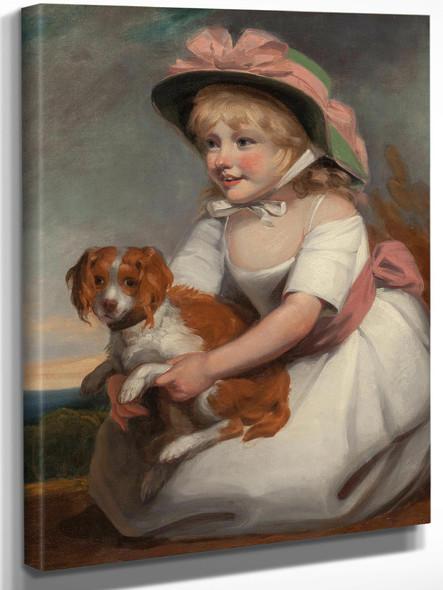 Portrait Of Sophy Elizabeth Burney Daughter Of Charles Rousseau Burney Esq Circa 1784 by Edward Francis Burney