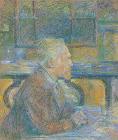 Portrait Of Vincent Van Gogh (1887) by Vincent Van Gogh