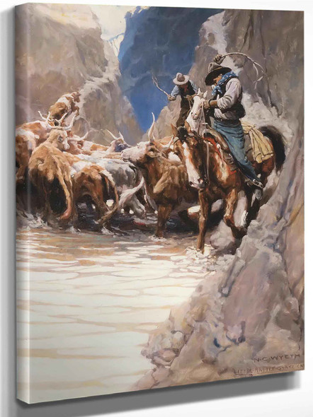 Rounding Up by Nc Wyeth