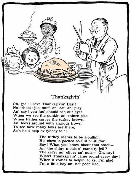 Thanksgivin Illustrated by Grace G Drayton