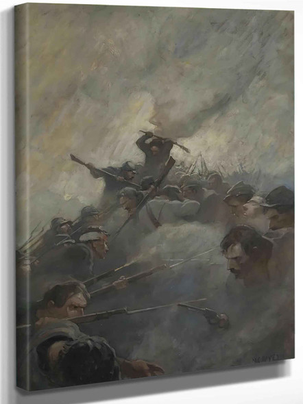 The Bloody Angle by Nc Wyeth