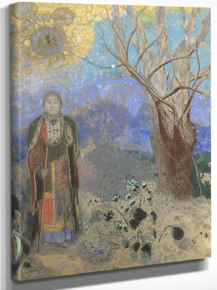 The Buddha By Odilon Redon by Odilon Redon