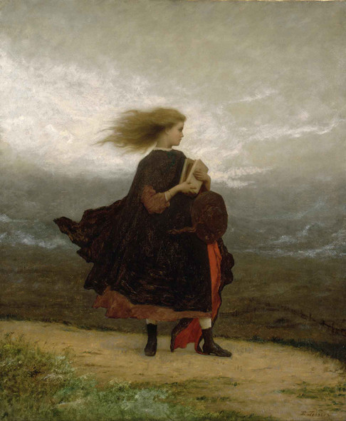 The Girl I Left Behind Me by Eastman Johnson