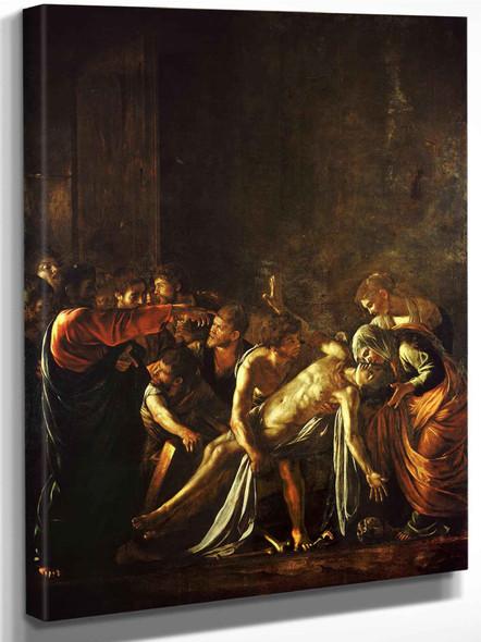 The Raising Of Lazarus Caravaggio (C 1609) by Caravaggio