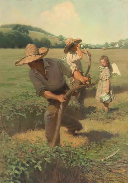 The Scythers by Nc Wyeth