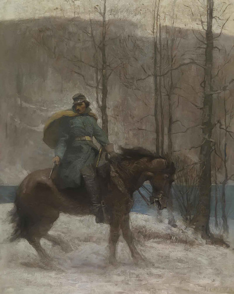 The Vedette by Nc Wyeth