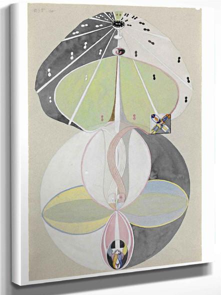 Tree Of Knowledge No 5 By Hilma Af Klint by Hilma Af Klint