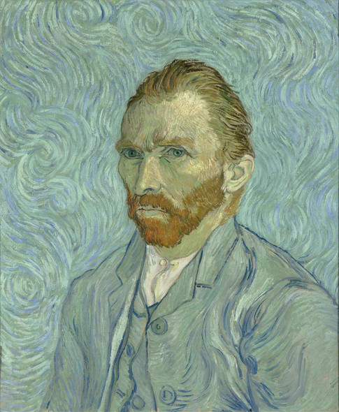 Vincent Van Gogh Self Portrait by Vincent Van Gogh
