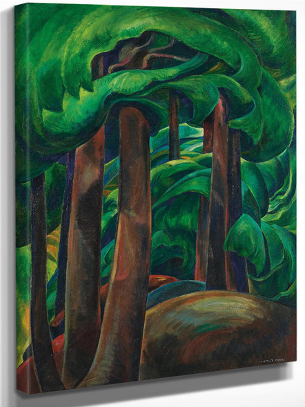 Western Forest By Emily Carr by Emily Carr