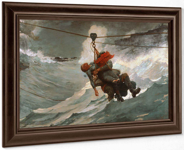 American The Life Line by Winslow Homer